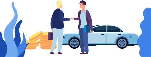 車を高く売る方法は、愛車を直接オークションで売る方法です。